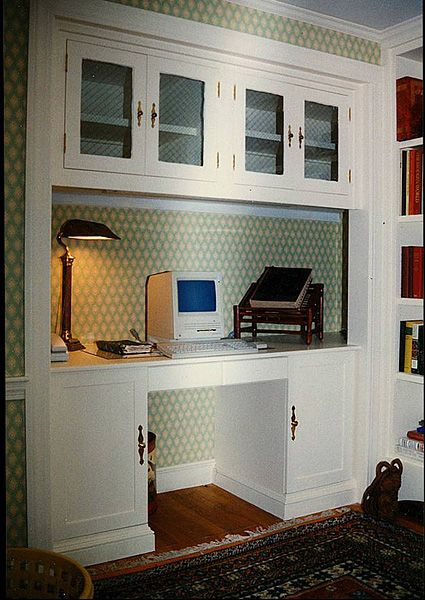 Best 25+ Closet Turned Office Ideas On Pinterest | Office In A Closet, Closet  Office And Closet Desk