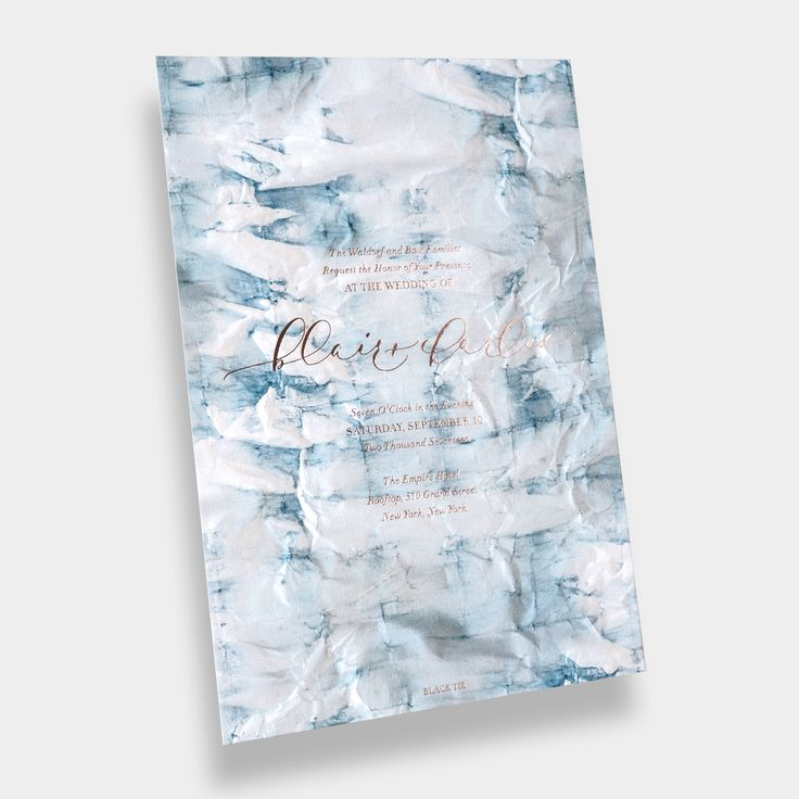 Bliss Bone Design Your Own Wedding Invitation Or Save The Date Blue