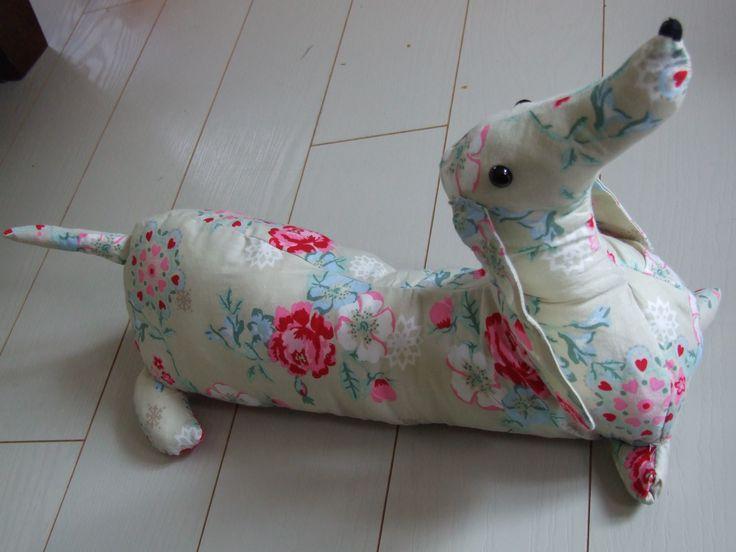teckel knuffel, dachshund toy