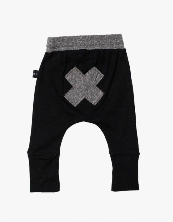 High Cuff Pants - Black