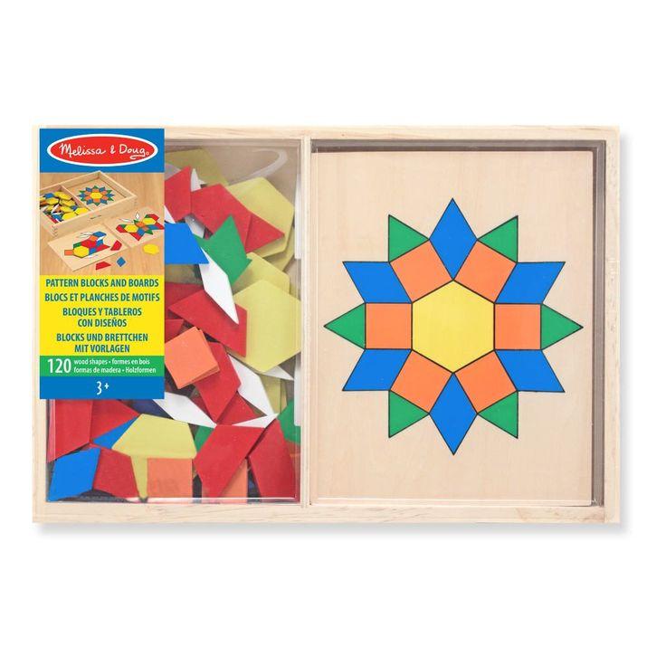 'Art is a form of life'Patroon Blokken En Bord van Melissa & Doug is perfect voor alle creative kinderen onder ons. Ga aan de gang en maak de mooiste mozaïeken.