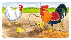 Auf dem Bauernhof | Kinderpuzzle | Puzzles | Shop | Auf dem Bauernhof