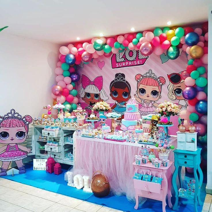 1491 Best LOL Surprise Party Ideas Images On Pinterest