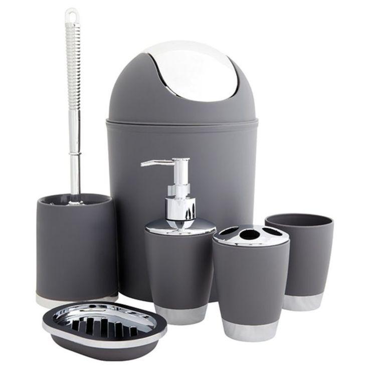 Black Bathroom Accessories Uk best 20+ modern bathroom accessory sets ideas on pinterest