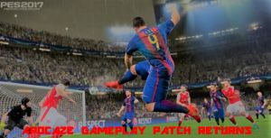 Pro Evolution Soccer 2017 Apocaze Gameplay Patch Return 1.0