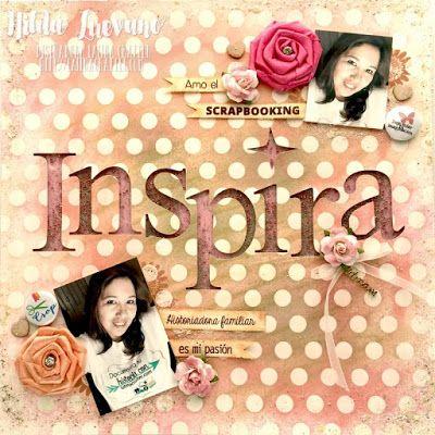 Hilda Designs: Blog Hop en LC: Dia Internacional del Scrapbook