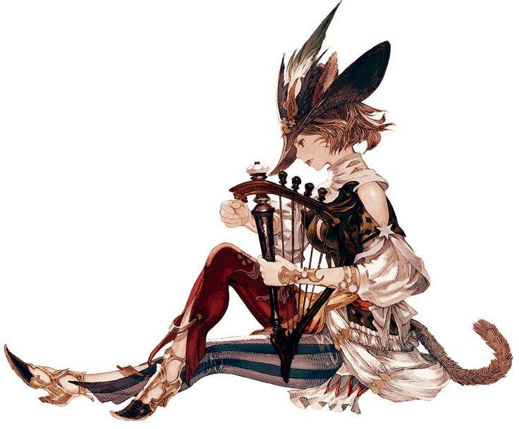 Final Fantasy XIV: A Realm Reborn - Miqo'te Bard