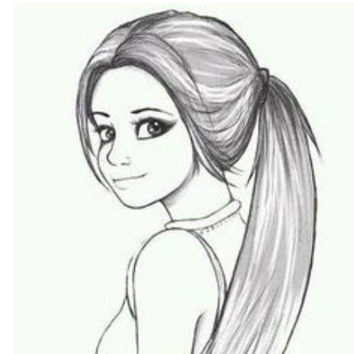 Картинки для срисовки для начинающих девочек 12 лет