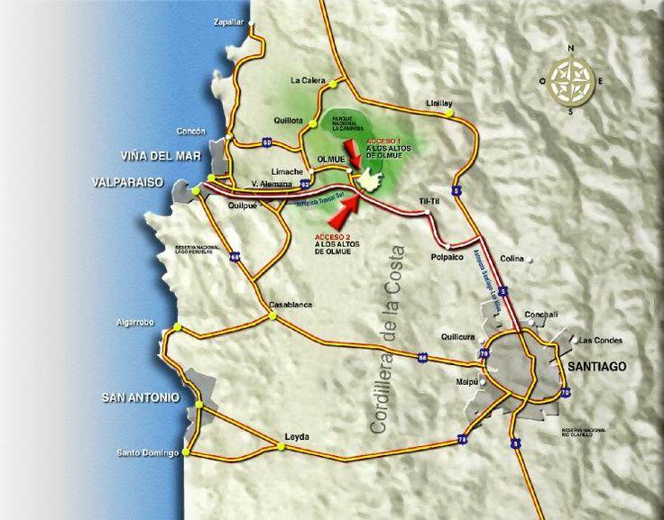 Localización en el centro de la zona central, cerca de Santiago y principales puntos turísticos sector de Viña del mar, Con Con, borde costero central, Quillota, Limache, y otros lugares de gran atracción turística - ¡Para Comenzar a Vivir!