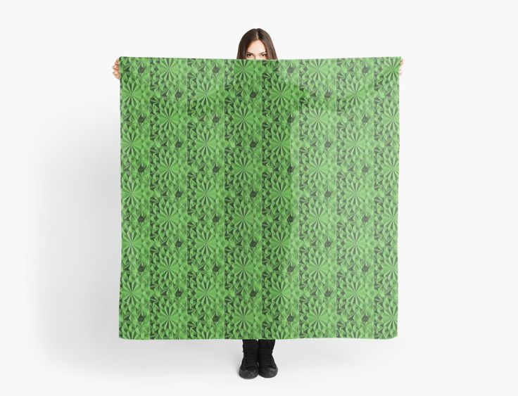 Green fractals pattern, tiled by cool-shirts Also Available as T-Shirts & Hoodies, Men's Apparels, Women's Apparels, Stickers, iPhone Cases, Samsung Galaxy Cases, Posters, Home Decors, Tote Bags, Pouches, Prints, Cards, Mini Skirts, Scarves, iPad Cases, Laptop Skins, Drawstring Bags, Laptop Sleeves, and Stationeries #sexy #scarf #scarves #design #fractals