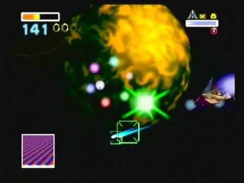 Star Fox 64: Area 6 Stage: Single Hard Path to Venom + Medal Hunting