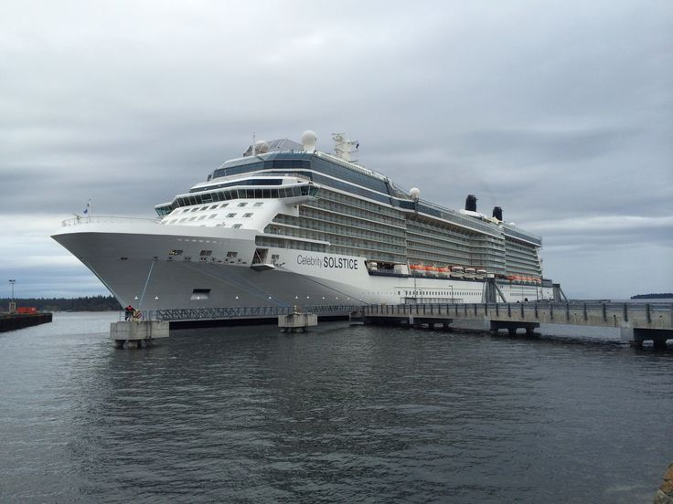 Vancouver pier for celebrity cruises