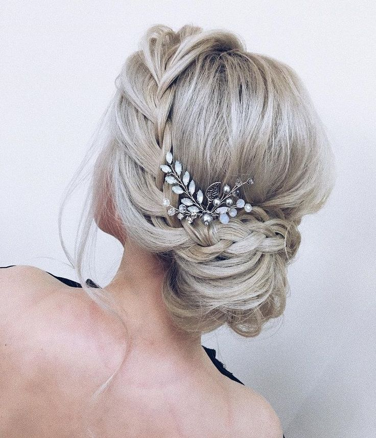 Amazing updo with the wow factor. Find exactly the right wedding hair