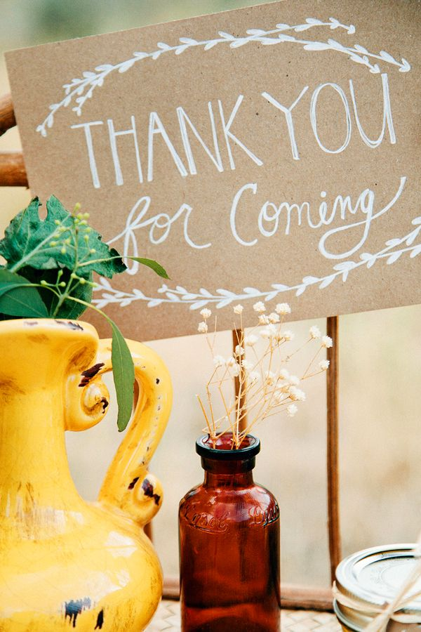 everyone loves a thank you #thankyou http://www.weddingchicks.com/2013/11/22/van-gogh-inspired-wedding-ideas/
