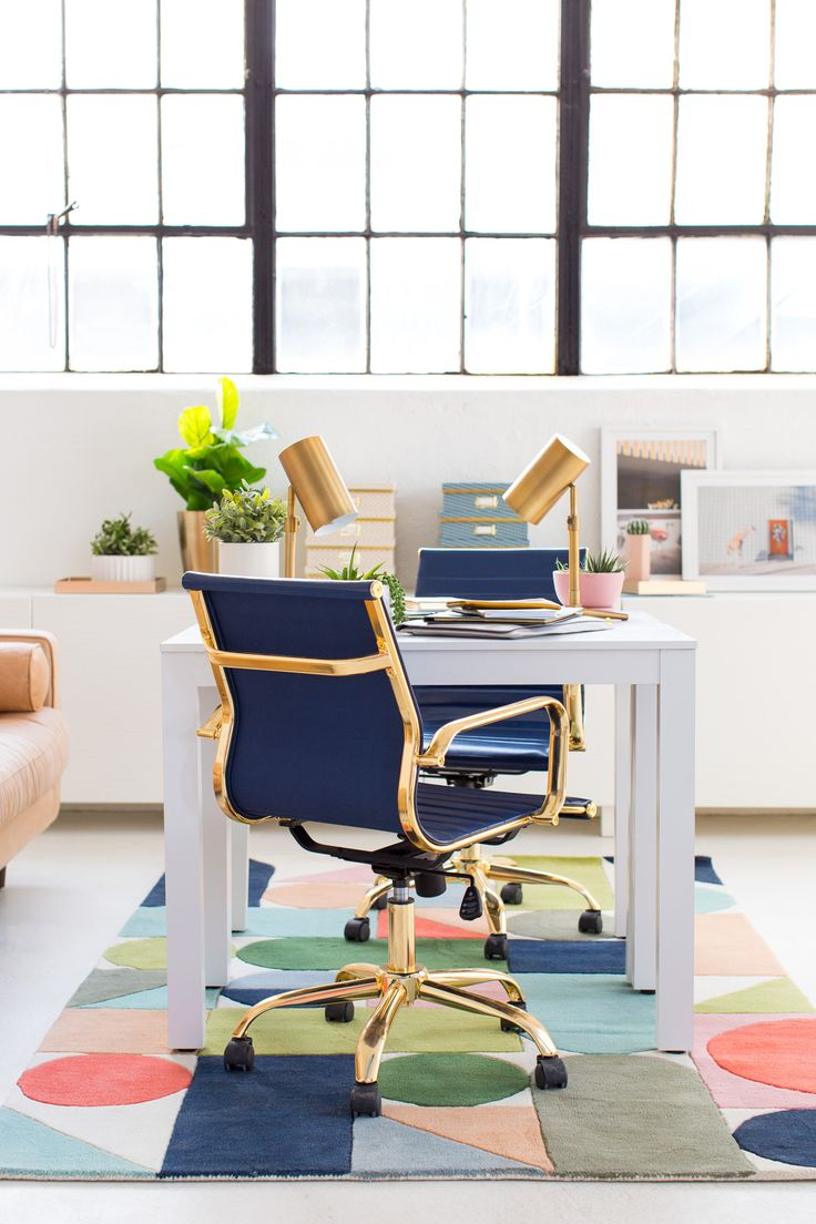 Modern Interiors: Bright Office Space Inspiration | Sugar & Cloth