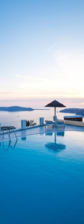 Santorini Princess Hotel  I soooooo want to stay here :)