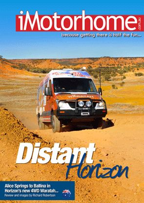 Alice Springs to Ballina in Horizon's new 4WD Waratah...  iMotorhome is a website and free emagazine dedicated to campervans and motorhomes in Australia and New Zealand – but with a eye to the world. We also feature free classified ads for private sellers!