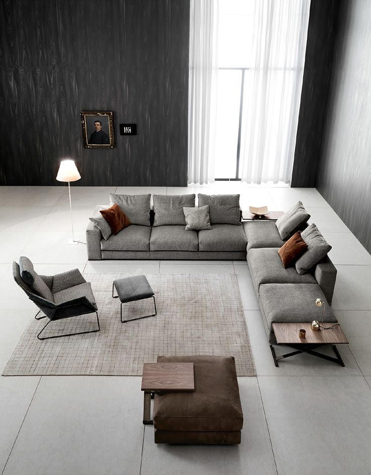 Modern Sectional Sofa Ananta Class By Saba Modern Sofa Sectional Living Room Design Modern Living Room Decor Modern