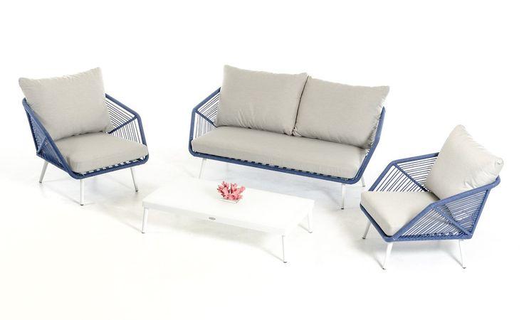 VIG Renava Brichure Outdoor Sofa Set VGMNBRICHURE