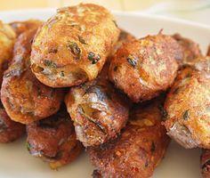 Eggplant croquettes ~ Μελιτζανοκροκέτες
