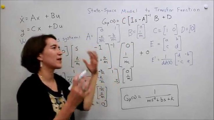Intro to Control - 6.3 State-Space Model to Transfer Function