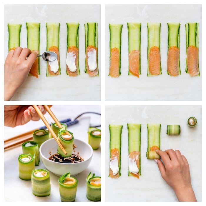 1001 Idees Pour Faire Un Amuse Bouche Aperitif Facile Et Savoureux Amuse Bouche Aperitif Aperitif Facile Riz Sushi