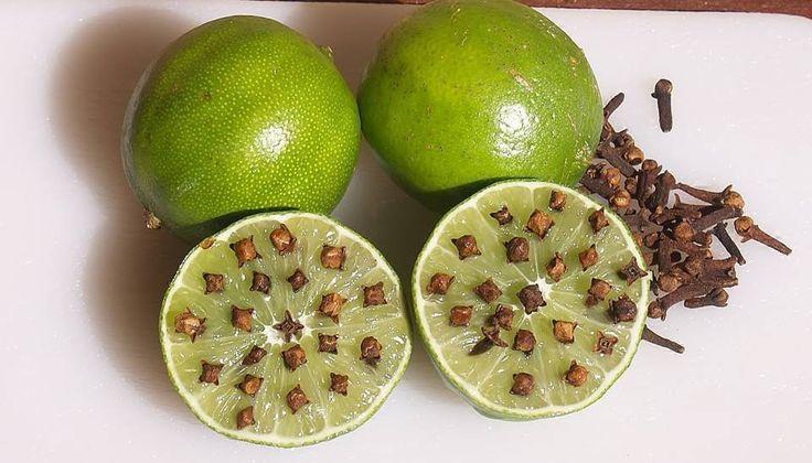 Estos dos alimentos el Limón y el Clavo de olor se han determinado como uno de los alimentos mas utilizados a la hora de hacer algún remedio natura