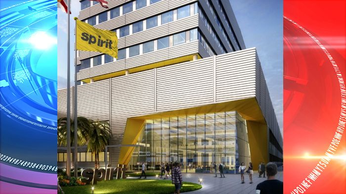 Dania Beach Fl Spirit Airlines The Florida Based Discount Air Carrier Broke Ground Thursday On A 250 Million Headquarter In 2020 Spirit Airlines Building Airlines