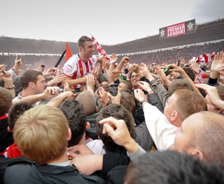 Southampton FC promoted to the Premiership 2012
