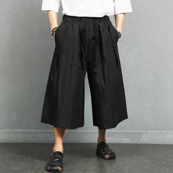 Avant garde Big Over Loose Fit 4/5 Leg Skirt Sweatpants