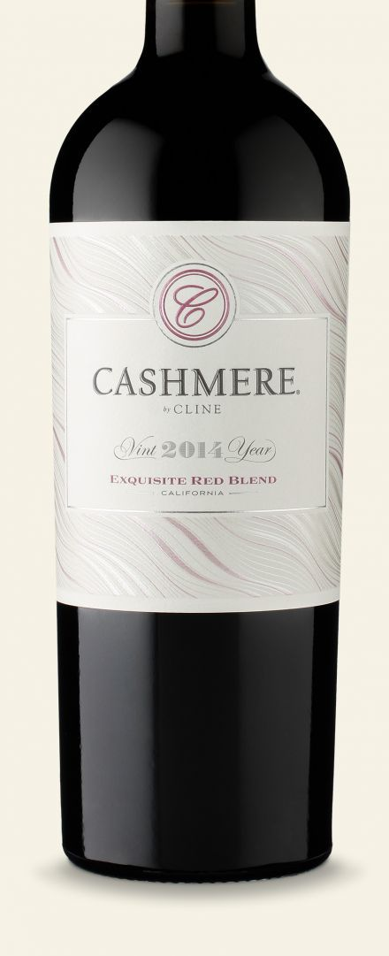 2014 Cashmere Red | Cline Cellars in Sonoma, Ca. | blend of Mourvedre, Syrah, & Grenache combine for seductive flavors cherry, raspberry and chocolate, with hints of cracked black pepper and plum. | $12.77 Total Wine | love this!