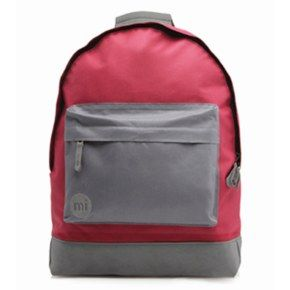 Mi-Pac Backpack - Two Tone Burgundy/Charcoal