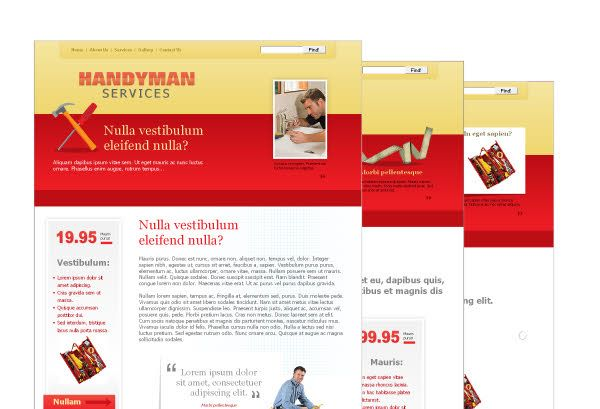 cool 22 Colorful Sample Website Design Templates