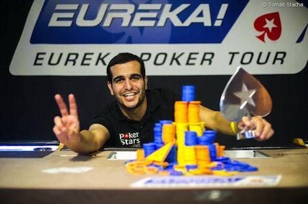 Eureka Poker Tour 2013, Bulgaria, Golden Sands. Main Event. O masa finala in care primii 6 au iesit rapid din joc, iar ultimii 2 s-au duelat mai bine de 3 ore. La final, a fost Liran Machluf, din Israel, calificat online pe PokerStars, care a cules laurii, trofeul si banii (nu putini, €93.000).