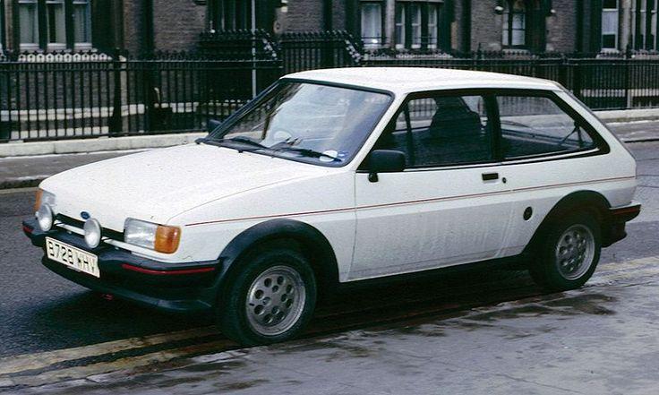 Ford Fiesta, 1984, XR2