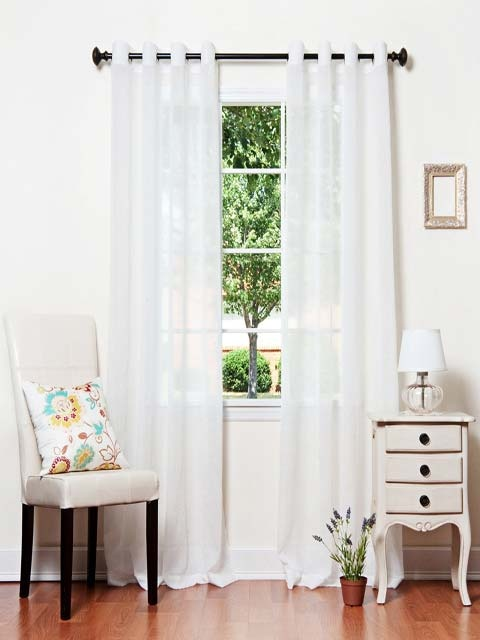 Curtains 2013 Spice Up Your Home This Year - White Curtain