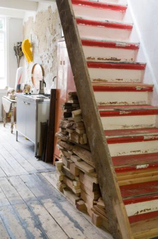 """This authentic staircase is from our feature """"Found in France"""""""