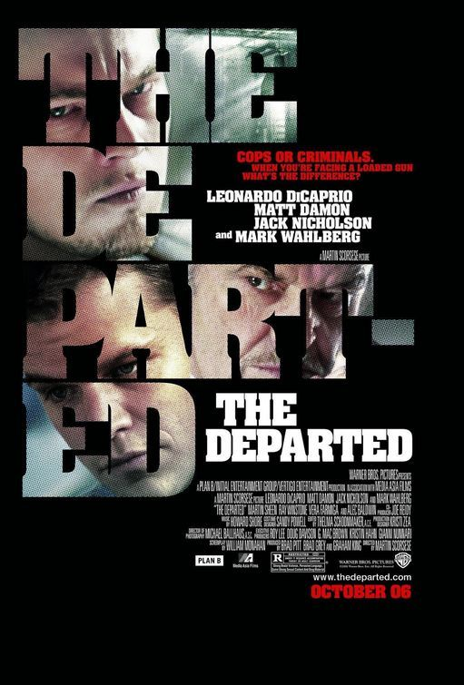 The Departed 2006  BEST PICTURE WINNER 2006
