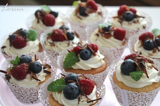 Torty od Lorny - Obľúbené recepty - Špaldové cupcakes