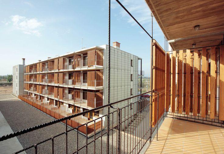 Gallery of 80 Viviendas De Protección Oficial En Salou / Toni Gironès | Element Balcony | Railing Iron | Exterior Space |
