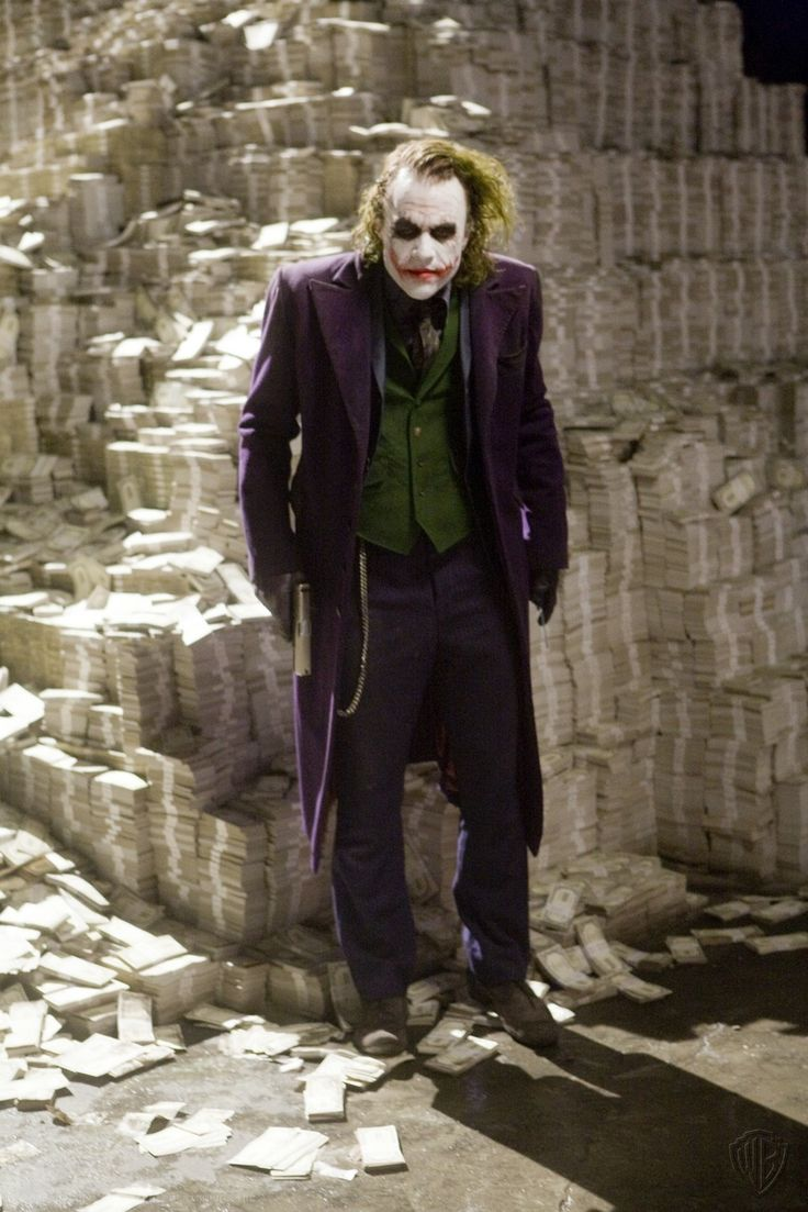 Joker images collection 46 - Heath Ledger As The Joker In The Dark Knight