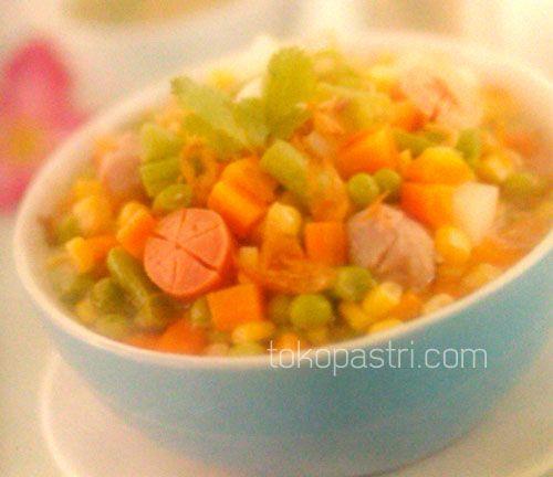 Resep Cara Membuat Sup Sayur Sehat