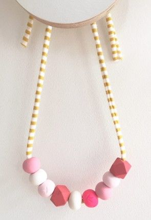 Strawberries & Cream Kids Necklace