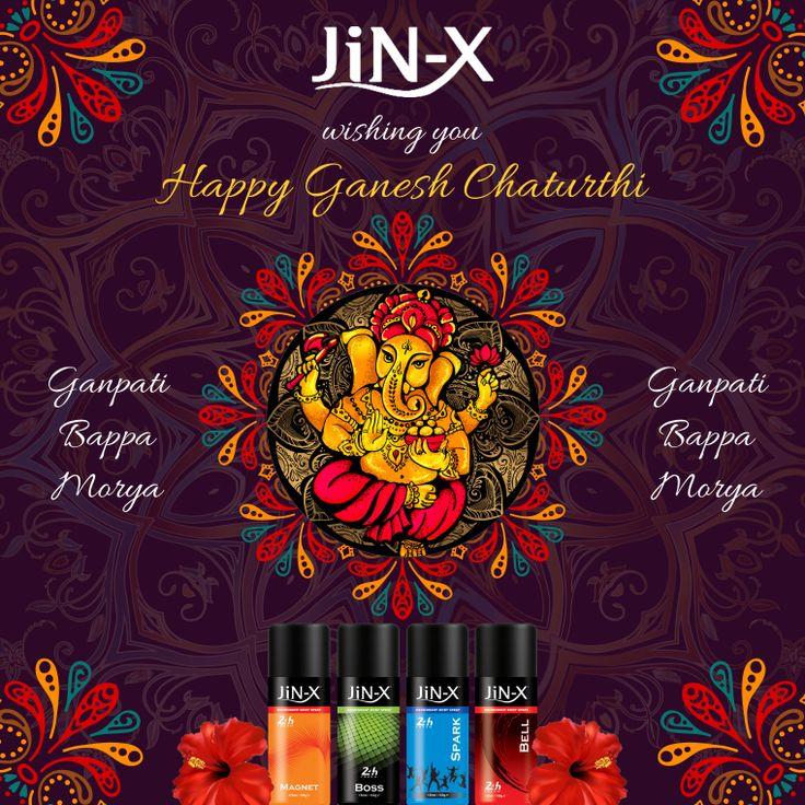 Happy Ganesh Chaturthi #Jin-X #festivals #GanpatiBappaMourya #GaneshChaturthi #Ganpati2017