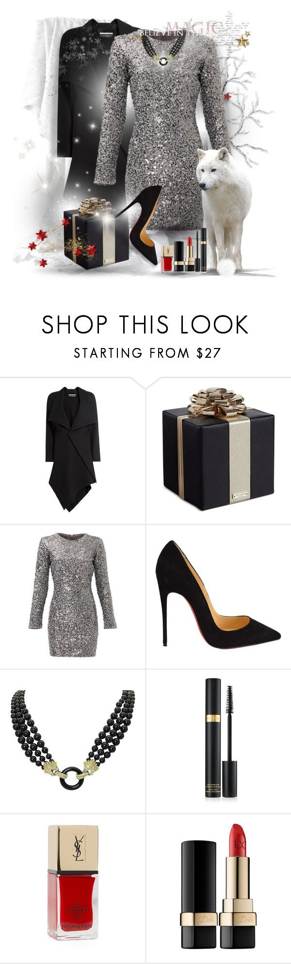 - 1 - Black - Bag & Shoes by falticska-cerasella on Polyvore featuring Slate & Willow, Roland Mouret, Christian Louboutin, Kate Spade, Van Cleef & Arpels and Lord & Taylor