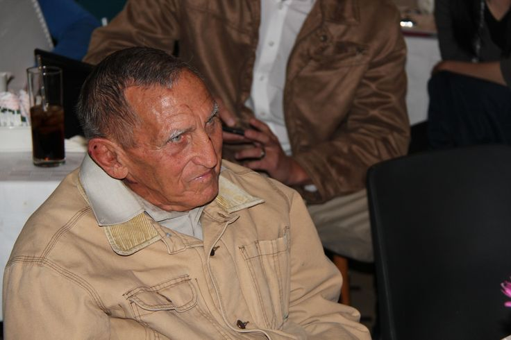 Mr. Martin Coetzee (82), who was tied up by landgrabbers on his own farm and tortured and beaten. This former Comrades athlete managed to survive this brutal attacks by men and woman unlawfully living on his farm.