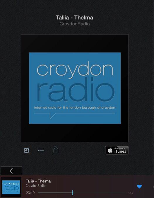 #Taliia #Croydonradio