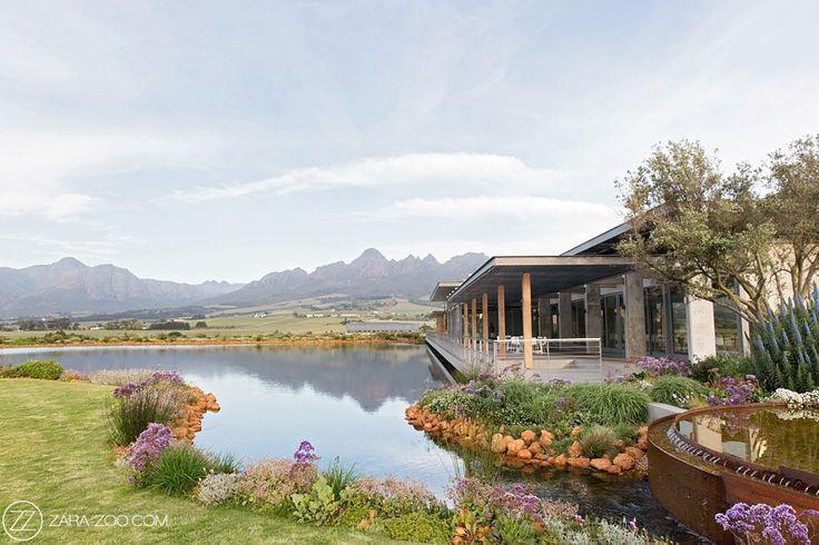 Cape Town Wedding Venue Cavalli Estate near Stellenbsoch.