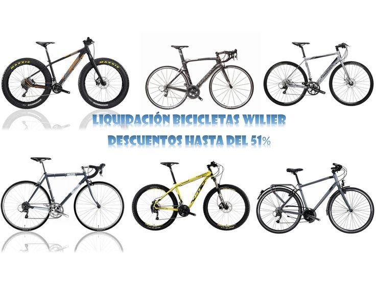 Liquidación bicicletas Wilier con descuentos hasta del 51%