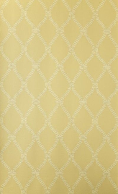Crivelli Trellis (BP 3105) - Farrow & Ball Wallpapers - Crivelli Trellis features a simple and delicate wheat-detailed motif. Showing in yellow water based paints - more colours are available. Please request a sample for true colour match.